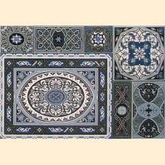 Aladdin Pattern Mix BL плитка декоративная