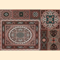 Aladdin Pattern Mix M плитка декоративная