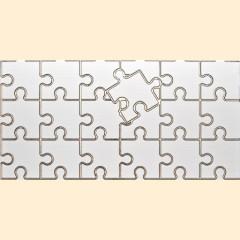Cuba - Puzzle 1W  плитка декоративная фриз