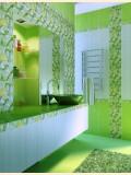 Дизайн-интерьер ванной комнаты.