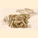 Интеркерама (Intercerama) - safari Д 73 031 плитка декоративная